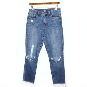 UO BDG High Rise Jeans Ripped Distressed Denim